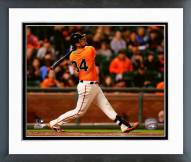 San Francisco Giants Andrew Susac Action Framed Photo