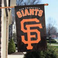 San Francisco Giants Applique 2-Sided Banner Flag