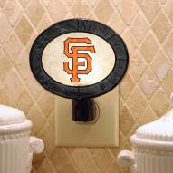 San Francisco Giants Art Glass Night Light