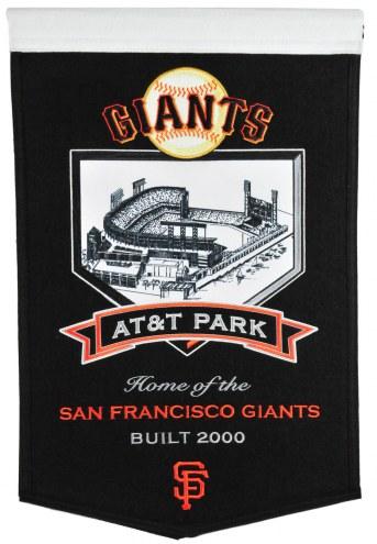 San Francisco Giants AT&T Park Stadium Banner
