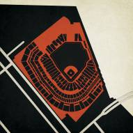 San Francisco Giants AT&T Stadium Print