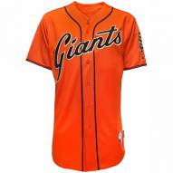 San Francisco Giants Authentic Orange Alternate Baseball Jersey