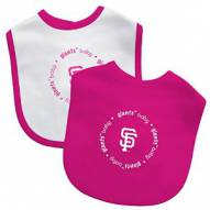San Francisco Giants Baby Bib - 2 Pack