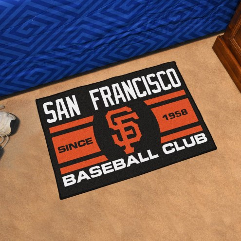 San Francisco Giants Baseball Club Starter Rug
