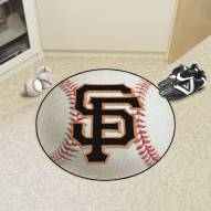San Francisco Giants Baseball Rug
