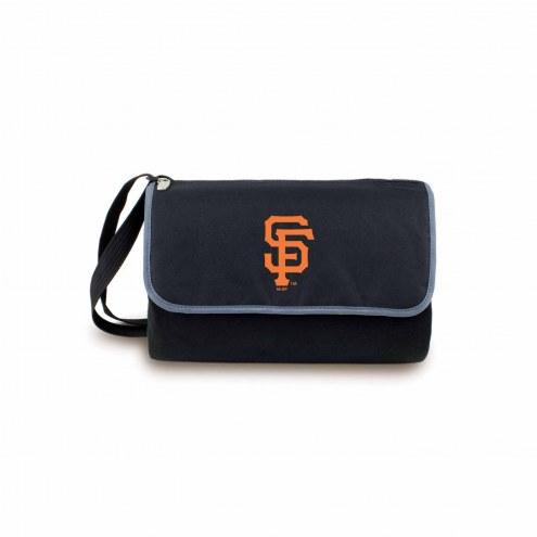 San Francisco Giants Black Blanket Tote