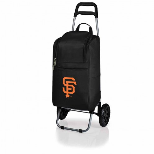 San Francisco Giants Black Cart Cooler