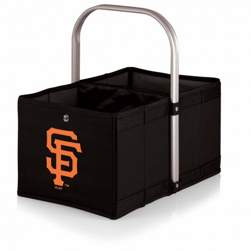San Francisco Giants Black Urban Picnic Basket