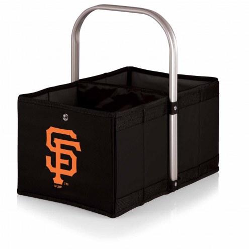 San Francisco Giants Black Urban Picnic Basket
