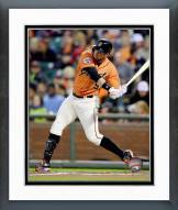 San Francisco Giants Brandon Belt Action Framed Photo