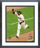 San Francisco Giants Brandon Crawford NL Championship Series Framed Photo