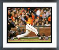 San Francisco Giants Brandon Crawford Action Framed Photo