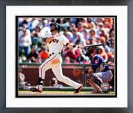 San Francisco Giants Brandon Hicks Action Framed Photo
