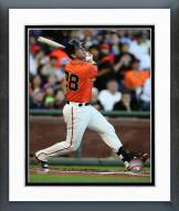 San Francisco Giants Buster Posey Action Framed Photo
