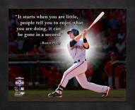 San Francisco Giants Buster Posey Framed Pro Quote