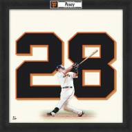 San Francisco Giants Buster Posey Uniframe Framed Jersey Photo
