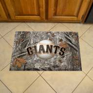San Francisco Giants Camo Scraper Door Mat