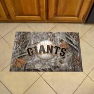 San Francisco Giants Camo Scraper Door Mat