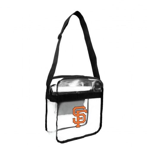 San Francisco Giants Clear Crossbody Carry-All Bag