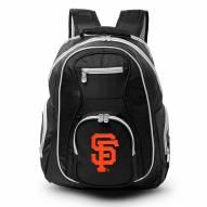 MLB San Francisco Giants Colored Trim Premium Laptop Backpack