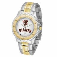 San Francisco Giants Competitor Two-Tone Men's Watch