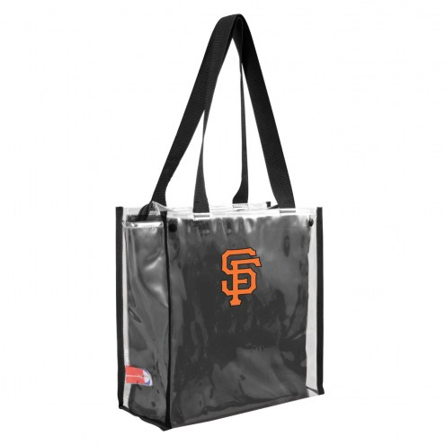 San Francisco Giants Convertible Clear Tote