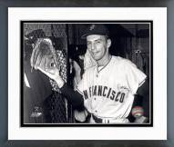 San Francisco Giants Dick Groat Posed Framed Photo