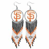 San Francisco Giants Dreamcatcher Earrings