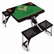 San Francisco Giants Folding Picnic Table