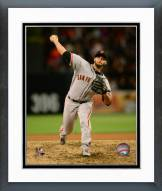 San Francisco Giants George Kontos Action Framed Photo