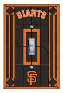 San Francisco Giants Glass Single Light Switch Plate Cover