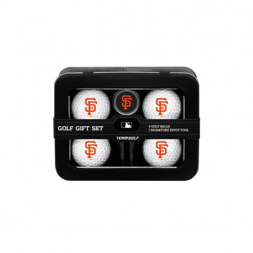 San Francisco Giants Golf Ball & Divot Tool Gift Set