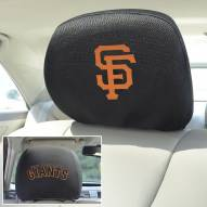 San Francisco Giants Headrest Covers