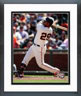 San Francisco Giants Hector Sanchez Action Framed Photo