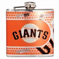San Francisco Giants Hi-Def Stainless Steel Flask