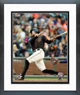 San Francisco Giants Hunter Pence Action Framed Photo