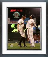 San Francisco Giants Hunter Pence & Pablo Sandoval Action Framed Photo