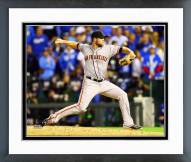 San Francisco Giants Hunter Strickland World Series Framed Photo