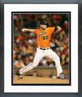 San Francisco Giants Hunter Strickland Action Framed Photo