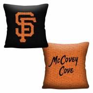 San Francisco Giants Invert Woven Pillow