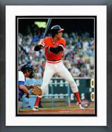 San Francisco Giants Jack Clark Batting Framed Photo