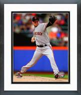 San Francisco Giants Jake Peavy Action Framed Photo