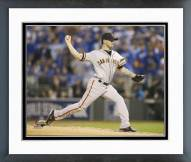 San Francisco Giants Jake Peavy World Series Framed Photo