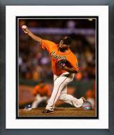 San Francisco Giants Jean Machi Action Framed Photo