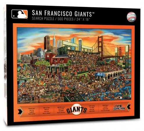 San Francisco Giants Joe Journeyman Puzzle