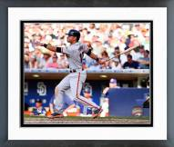 San Francisco Giants Joe Panik Action Framed Photo