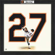 San Francisco Giants Juan Marichal Uniframe Framed Jersey Photo