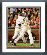 San Francisco Giants Juan Perez World Series Framed Photo