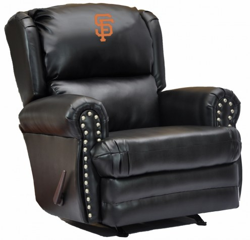 San Francisco Giants Leather Coach Recliner