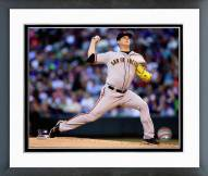 San Francisco Giants Matt Cain Action Framed Photo